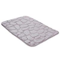 Rutschfeste Flanell-Badematte Badezimmer-Teppich-Fußmatte Küche Badezimmer-Autositz Weiche atmungsaktive Badezimmer-Toilettenmatte