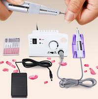 Hot Sell Strumenti professionali per unghie Rettifica Manicure False macchina elettrica Mulino elettrico Trapano macchina Manicure Trapani