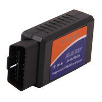 20pcs interface de diagnostic de voiture sans fil OBD2 II WI-FI OBD AUTO CHECKER est capable de détecter et d'interpréter ces protocoles
