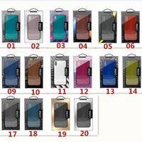 العالمي البلاستيكية التجزئة حزمة مربع التعبئة والتغليف صناديق بلاستيكية مع إدراج للحالة الهاتف فون x 8 7 6 زائد سامسونج S8 S9 شعار مخصص 20 ديسجل