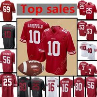 8 Photos Wholesale reuben foster jersey - Mens San Francisco ers Jersey  Jimmy Garoppolo Richard Sherman Colin Kaepernick 4cca323a5