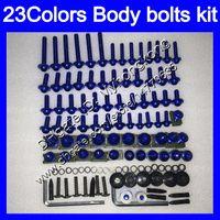 Fairing Bolts Full skruvkit för Honda CBR929RR 00 01 CBR900RR CBR 929 RR 900RR CBR929 RR 2000 2001 Kroppsnötter Skruvar Mutter Bolt Kit 25Colors