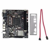 Freeshipping Professionale H61 Desktop Computer Desktop Motorboard Scheda madre 1155 Pin CPU Interfaccia Aggiornamento USB3.0 DDR3 1600/1333