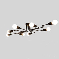 Personality ceiling lamp light modern Chinese style led long...