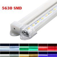 5630 SMD LED BAR U Groove Ljus 72LEDS / M LED-stift Strip DC 12V 5630 Hård LED-remsa med PC-lock