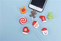 Christmas Cable Bite Cable Protector Charging Cord Cover Sav...