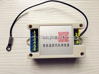 Freeshipping DC 12V 1A 자동 PC CPU 팬 온도 제어 속도 컨트롤러 + 센서 + 케이스