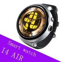 I4Air Smart Watch Android 5.1 GPS WIFI SIM Bluetooth 2GB + 16GB AMOLED Pantalla MTK6580 Smartwatch Soporte Android iOS Relojes