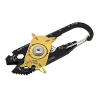 Field Gadget Mini Portable Utility FIXR 20 in 1 tasca multi attrezzo portachiavi chiave da campeggio esterna