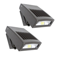 30W LED Wall Pack Light Design Design Tête Réglable 5000K 200W Hps / HID Remplacement Lampes murales LED Sécurité Floodlight Area Light