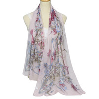 New Spring and Summer Fashion Trend Holiday Shawl Printed Ch...