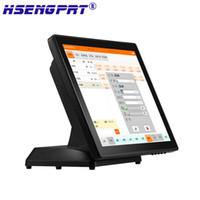 HSPOS 핫 소매점 판매 시스템 HS-630PSC 터치 스크린 PC 영수증 프린터, 스캐너, 현금 서랍 포함