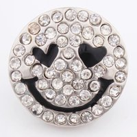 Noosa DIY Jewelry Accessory 18mm Cute smiley face chunks but...