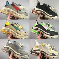HOT 2018 New Arrival High Quality Unveils New Triple S Sneak...