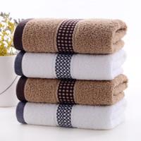 Serviette en coton pur, lavis ménagers, lavages douces, grosses serviettes, coton épais, grossistes hommes et femmes au printemps et en été