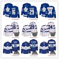 2018 Toronto Maple Leafs jersey 34 Auston 16 Mitch Marner 29...
