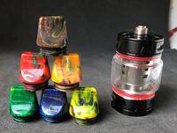 Nuevos llegada cigarrillos e Vape 810 Consejos goteo de calibre ancho plana 810 Drip Tip para vaporizador bebé grande TFV12 atomizadores