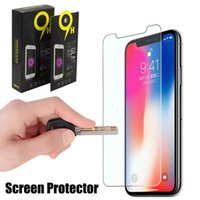 For iPhone X Tempered Glass IPhone 8 8 Plus Screen Protector...