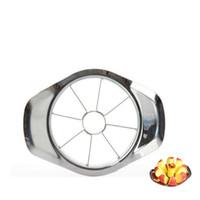 Qihang_top 도매 과일 야채 도구 사과 슬라이서 분배기 Corer 스테인레스 스틸 홈 작은 사과 절단기 가격