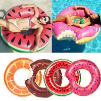 Chocolate Frosted Donut Pool Float | Giant Premium Inflatabl...