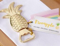 New Kitchen, Dining & Bar Party Favors Gold Pineapple Bottle...