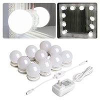 Hollywood Style LED Vanity Makeup Mirror Lights Kit with 10 ...