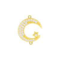 Strass Círculo De Cristal por atacado Conectores Infinito Karma DIY Brincos Pulseira Achados Loop Rodada Conectores Fiting Jewelry Making