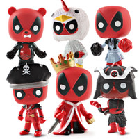 New Arrival Deadpool 2 Action Figures 6 Styles Marvel Collec...