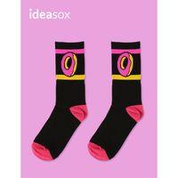 Moda Sevimli Donuts Desen Çorap Yün Pamuk Orta Hiphop Kaykay Rahat Kadın Erkek Uzun Çorap FS99