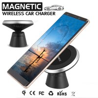 Magnetic Wireless Car Charger Wireless Charging For Samsung ...