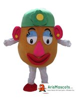 100% real photos Adult Size Mrs Potato costume Cartoon masco...