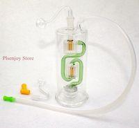 Glass Dab Rigs Oil Burner Hookah Tubulação de fumo Bong Hand Craft Art Art Hookah Atacado