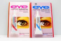 العين نوعية جيدة العين لاش الغراء واضح أبيض أسود ماكياج لاصق ماء الرموش سيدة ماكياج أداة رمش الغراء