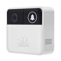 Appareil photo de 32 Go à sonnette 720P HD Smart Video Sonnette WiFi Caméra de sécurité à domicile Sonnette de porte mobile Bague de conversation en temps réel Vidéo APP Voir