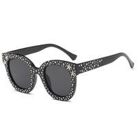 2018 Imitation Diamonds Sunglasses Women Square Classic Vintage Outdoor Sun Glasses  Shopping Oculos De Sol Feminino 65082acea9