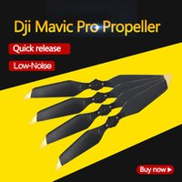 DJI Mavic Pro 8331 Geräuscharme Schnellwechselpropeller Golden und Silber für die DJI Mavic Platinum-Serie auf Lager im Original