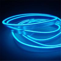 Paket posta el yan araba ile atmosfer lamba içindeki LED soğuk ışık klip tipi ışık atmosfer değişikliği dekoratif ışık bandı 3 M