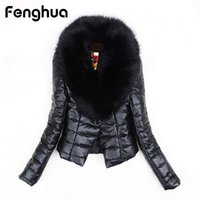 Fenghua Faux Fox Fur Jacket Coat 2018 Winter Women Fur Coat ...