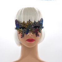 Sexy Women Party Lace Masks Halloween Masquerade Half Face L...