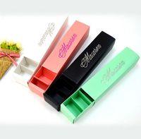 다채로운 선물 상자 서랍 웨스트 포인트 카트리지 상자를 청동 빛 마카롱 베이킹 음식 종이 상자 초콜릿 케이크 포장