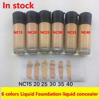 Liquid Foundation NC15 NC20- NC40 6 Colors 35ml STUDIO FIX FL...