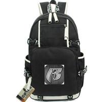 Ruff Ryders rucksack Хороший R Значок Daypack Rapper Mead Sworkbag Music Knaxackack Компьютерный рюкзак Спортивная школа Сумка Out Door Day