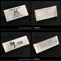 Etichette di indumenti di raso di poliestere di progettazione personalizzata  di trasporto libero   etichette di 76fd1ef0842