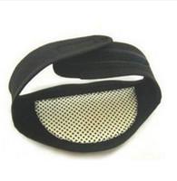 뜨거운 패션 자기 치료 목지지 보호 자발적인 전기석 가열 두통 벨트 목 마사지 드롭 배송