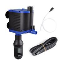 Pompe à eau de filtre interne de piscine d'étang de réservoir de poissons de pompe à eau d'aquarium du rendement élevé 8W avec le débit maximum de 500L / H