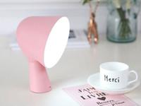 Светодиодная настольная лампа Big Head Student's Eye-protection Study Lamp с USB-портом для зарядки, спальня боковая сенсорная лампа