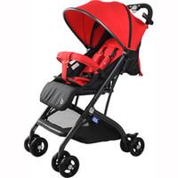 Tragbare Hohe Landschaft, die Baby-Kinderwagen-Regenschirm-Wagen-Flugzeug-Hebelwagen für 0-36Month Baby