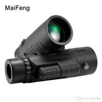 35X50 Hunting Nitrogen Monocular 줌 HD 망원경, 컴퍼스 클리어 비전 줌 프로페셔널 쌍안경 야외 여행용