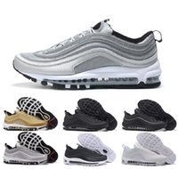 Nike air max airmax 90 95 97 270 vapormax Newest 2018 97 Men Low OG Cushion Breathable Cheap Massage Running Flat Sneakers Men Sports Outdoor Shoes air SZ5.5-US11