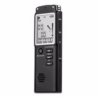 T60 Audio digitale di alta qualità Registratore vocale una schermata di blocco tasti Telefono Registrazione in tempo reale con lettore MP3 integrato 8GB